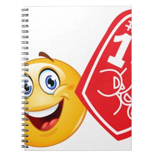 sports fan emoji notebook