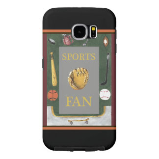 Sports fan equipment Samsung Galaxy S6 case