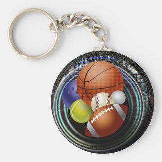 Sports Fan Keychains
