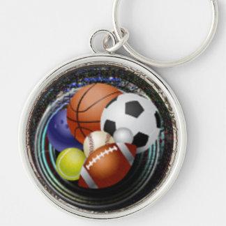 Sports Fan Keychain