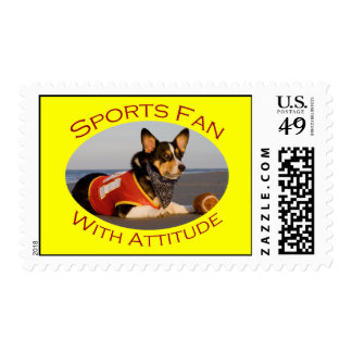 Sports Fan with Attitude Stamps