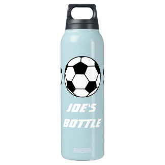 Sports Football On Your Customizable Thermos Bottle