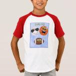 Sports Game Day Football Baseball Basketball T-Shirt