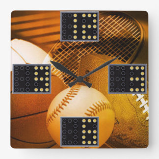 Sports Game Wall Clock