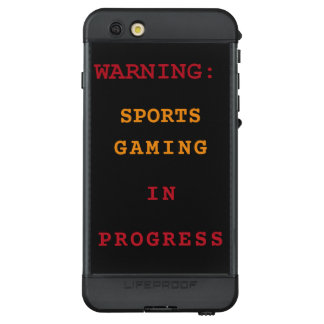 Sports Gaming In Progress LifeProof NÜÜD iPhone 6s Plus Case
