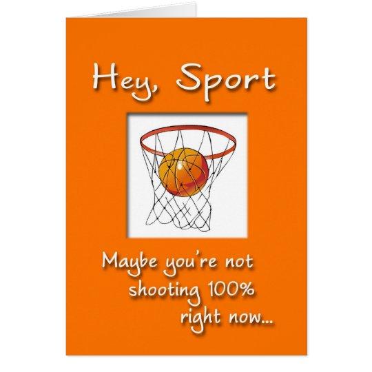 Sports Get Well Soon Card