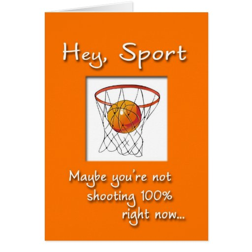 Sports Get Well Soon Cards