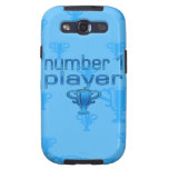 Sports Gifts for Boys : Number 1 Player Samsung Galaxy SIII Covers