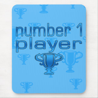 Sports Gifts for Boys : Number 1 Player Mouse Pad