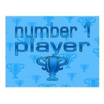 Sports Gifts for Boys : Number 1 Player Post Cards