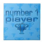 Sports Gifts for Boys : Number 1 Player Tiles