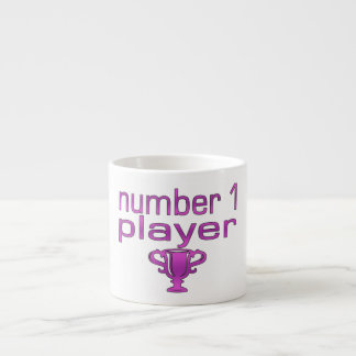 Sports Gifts for Girls : Number 1 Player Espresso Cup
