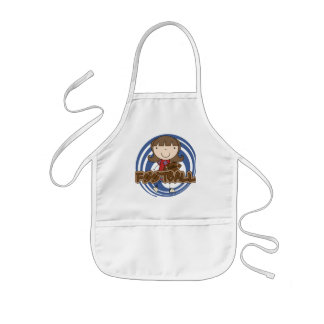 Sports Girl - Football Tshirts and Gifts Kids' Apron