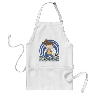 Sports Girl - Soccer T-shirts and Gifts Adult Apron