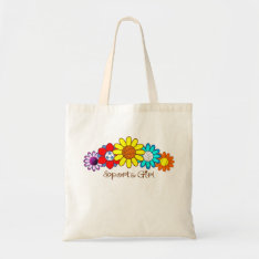 Sports Girl Tote Bag at Zazzle
