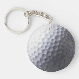 Sports, Golf Ball Zipper-pull, ID Tag Keychain