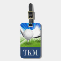 Sports - Golf Luggage Tag