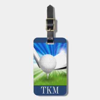 Sports - Golf Luggage Tag