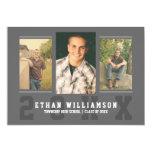 """Sports Guy Photo Graduation Party Invitation 5"""" X 7"""" Invitation Card"""
