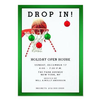 sports holiday party invitations