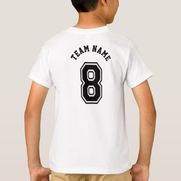 Sports Jersey 8 Number T-Shirt