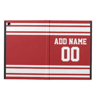 Sports Jersey with Your Name and Number Cover For iPad Air