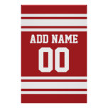 Sports Jersey with Your Name and Number Print