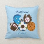 Sports Keepsake Pillow