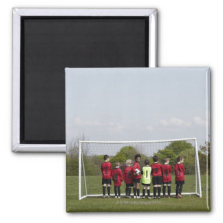 Sports. Lifestyle, Football 2 Inch Square Magnet