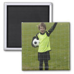 Sports, Lifestyle, Football 7 2 Inch Square Magnet