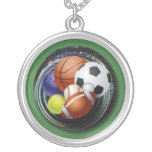 Sports Lover Custom Necklace