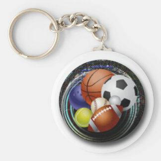 Sports Lover Keychain