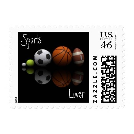 Sports Lover Postage Stamp