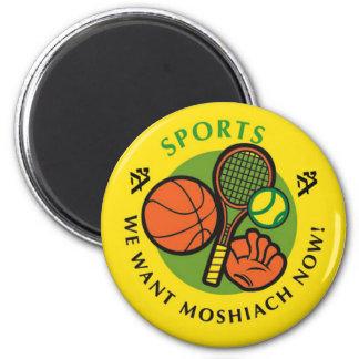 Sports 2 Inch Round Magnet