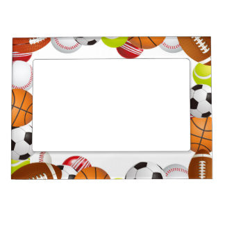 Sports Magnet Picture Frame