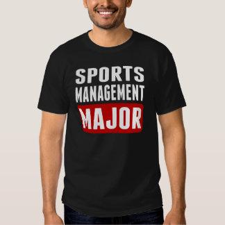 Sports Management Major Shirt