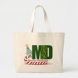 SPORTS MEDICINE CHRISTMAS MD CANVAS BAGS