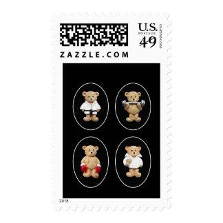 Sports Men Stamp