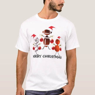 Sports Merry Christmas T-Shirt