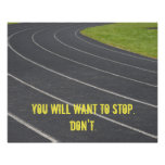 Sports Motivational Poster! Perfect For Runners Poster