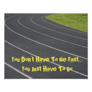 Sports Motivational Poster- Track & Field! Poster