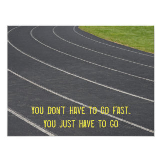 Sports Motivational Running Poster