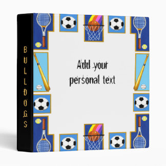 Sports Notebook Avery Binder 1 Touch EZD Ring