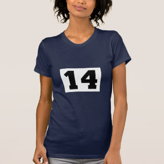 Sports number 14 tee shirt