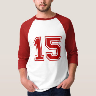 Sports number 15 T-Shirt