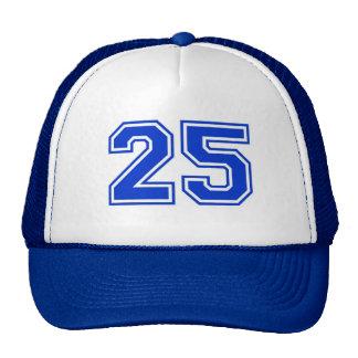 Sports number 25 trucker hat