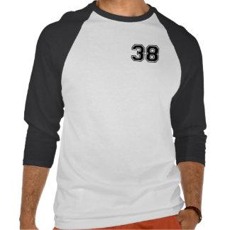 Sports number 38 tshirt