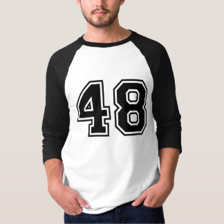 Sports number 48 T-Shirt
