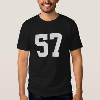Sports number 57 shirt