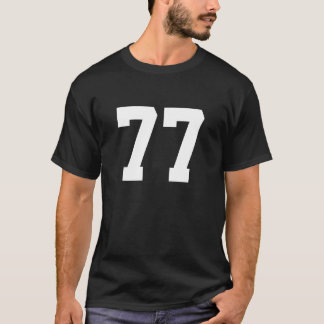 Sports number 77 T-Shirt